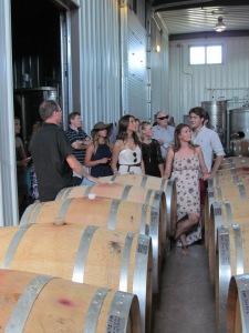 Inside Prince Edward County winery