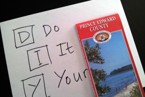 Do it yourself tour of Prince Edward County