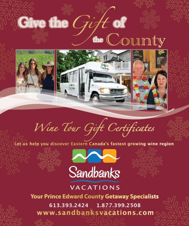 Gifts from Prince Edward County